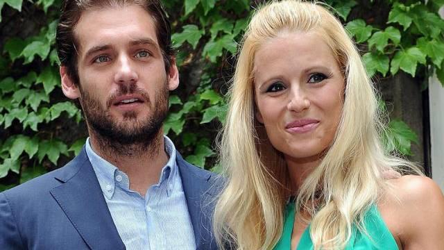 Kurztrip nach Wien: Tomaso Trussardi und Michelle Hunziker (Archiv)