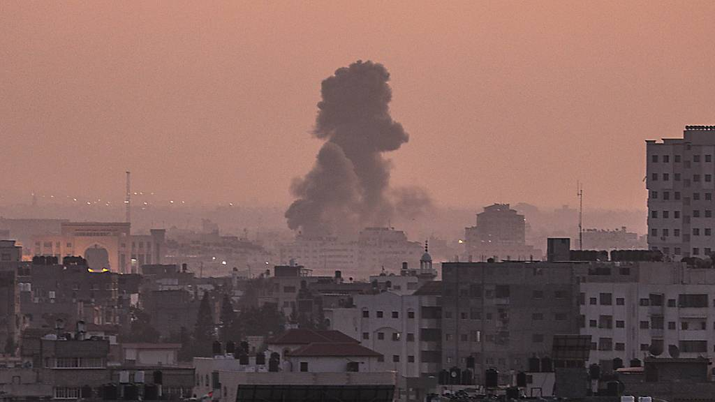 Israels Luftwaffe greift erneut Ziele militanter Palästinenser an