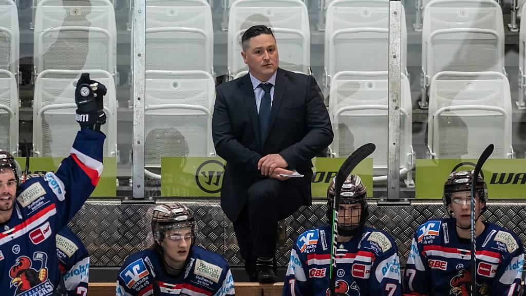 Jason O'Leary wird die SCL Tigers in der nächsten Saison coachen. Der Kanadier arbeitet derzeit in Deutschland für die Iserlohn Roosters