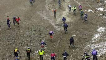 Downhill-Biker: In der Region Thun leben sie gefährlich (Symbolbild)
