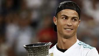 Keine Überraschung: Champions-League-Sieger Cristiano Ronaldo wurde als Europas Spieler des Jahres gewählt