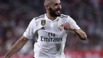 Doppel-Torschütze für Real: Karim Benzema