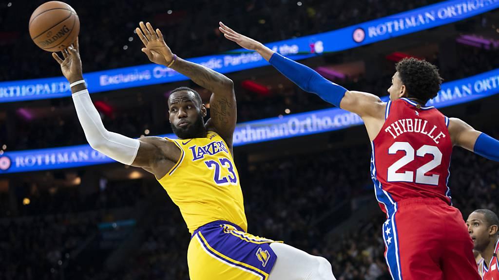 LeBron James nun der dritterfolgreichste NBA-Punktesammler