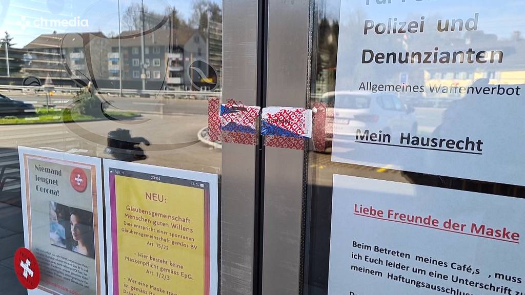 Widerstand geht weiter: Siegel bei Café Diexer schon wieder gebrochen