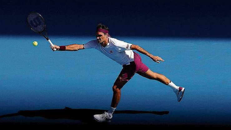 Optimal ernährt, ausgeschlafen, den Sieg hat er vor dem Match in aller Ruhe schon visualisiert? Wahrscheinlich macht Roger Federer das alles richtig.