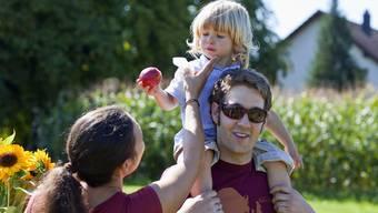 Mit dem Projekt «schritt:weise» werden Familien mit Kindern zwischen 1,5 und drei Jahren unterstützt. (Symbolbild)