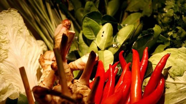 Ein mit asiatischem Gemüse gefüllter Korb (Symbolbild, Archiv)