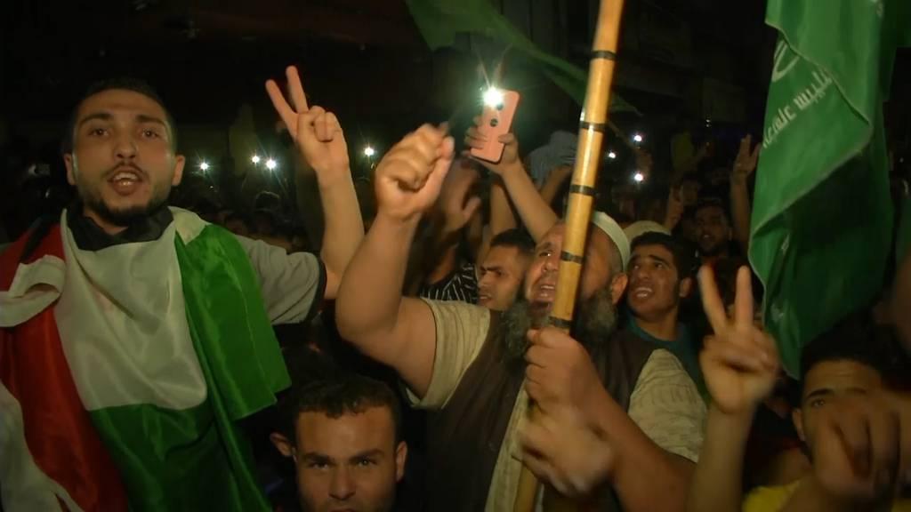 Ende der Angriffe: Tausende feiern Waffenruhe im Gazastreifen