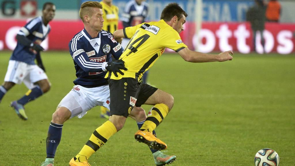 FC Luzern verliert gegen YB 1:2