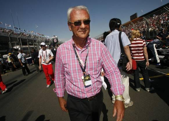 Der Maestro: Red-Bull-Erfinder Dietrich Mateschitz an einem Formel-1-Rennen