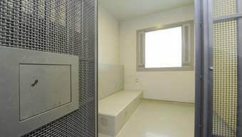 Blick in die Zelle eines Ausschaffungsgefängnis. (Symbolbild)