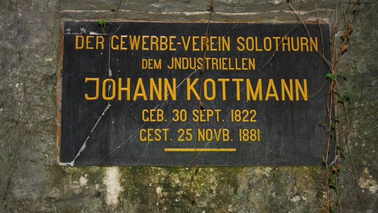Das Gewerbe ehrte den Industriellen Johann Kottmann.