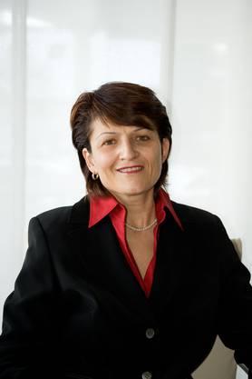Sie ist die einzige Frau im Verwaltungsrat: Claudia Hoffmann-Burkart