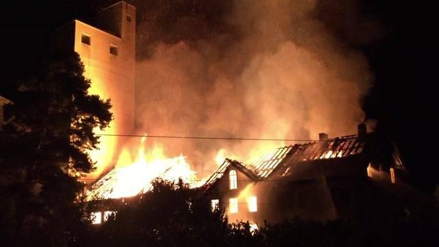 Zeugenaufruf: Brand Getreidemühle