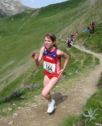 Martina Strähl hat sich als Bergläuferin etliche Titel geholt.