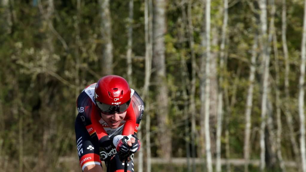 Für Marc Hirschi folgt auf das Zeitfahren am Mittwoch der Aufstieg zur Skistation Vallter 2000