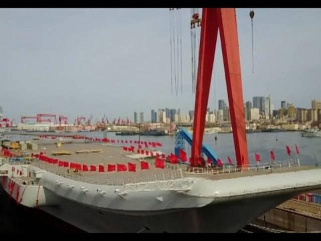 China untermauert mit Flugzeugträger Ambitionen auf den Weltmeeren