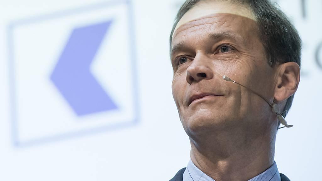 ZKB-Chef Martin Scholl tritt per Ende August 2022 zurück
