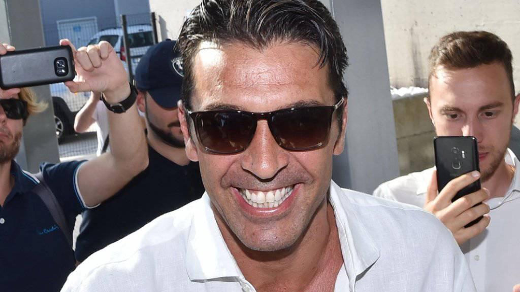 Goalie-Legende Buffon zurück bei der Juve