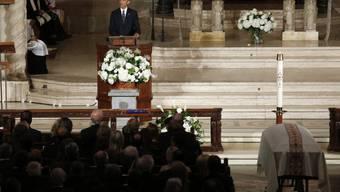 Obama hielt Trauerrede bei Beerdigung