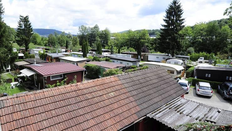 Ein Standplatz in Dittingen ist für rund 3000 Franken pro Jahr zu haben.