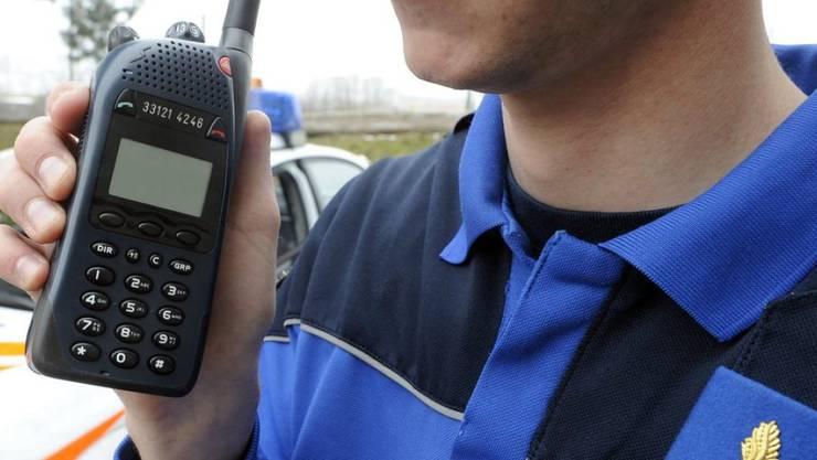 Das Polycom-System für die Kommunikation der Rettung- und Sicherheitsdienste. (Archivbild)