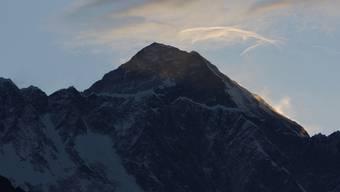 Das Original: Der 8848 Meter hohe Mount Everest an der Grenze von Nepal und China (Archiv)