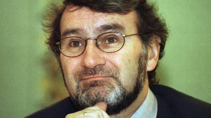 Roger Blum, emeritierter Medienprofessor