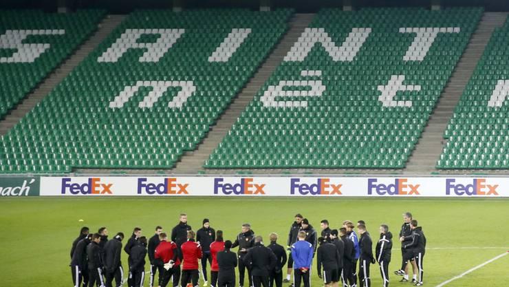 Wird in Saint-Etienne ohne Fan-Unterstützung spielen müssen: der FC Basel