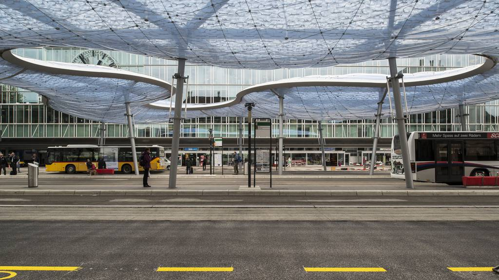 Keine Gefahr mehr am Bahnhof Aarau