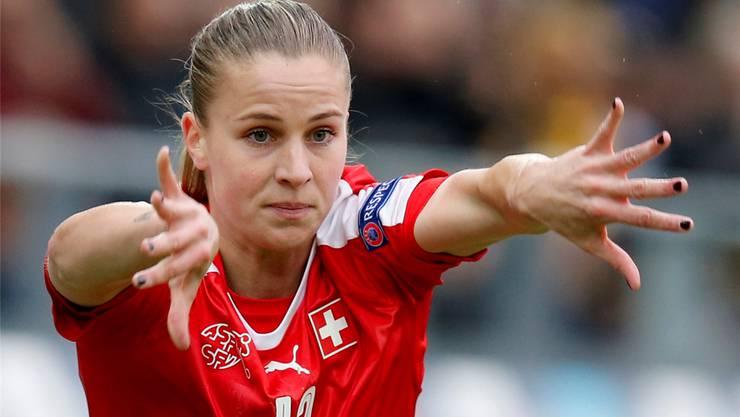 Ana-Maria Crnogorcevic hat 102 Spiele im Dress der Schweizer Nationalmannschaft bestritten.