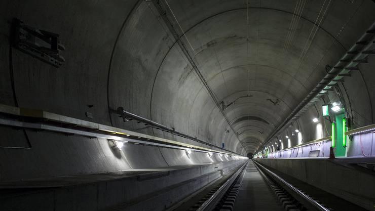 Hochmodern Der Gotthard-Basistunnel