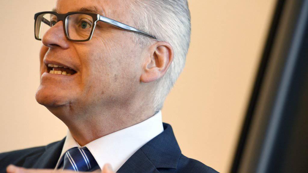 Umsatz und Gewinn gesteigert: Riet Cadonau, der Chef des Sicherheitstechnologie-Unternehmens Dormakba. (Archiv)