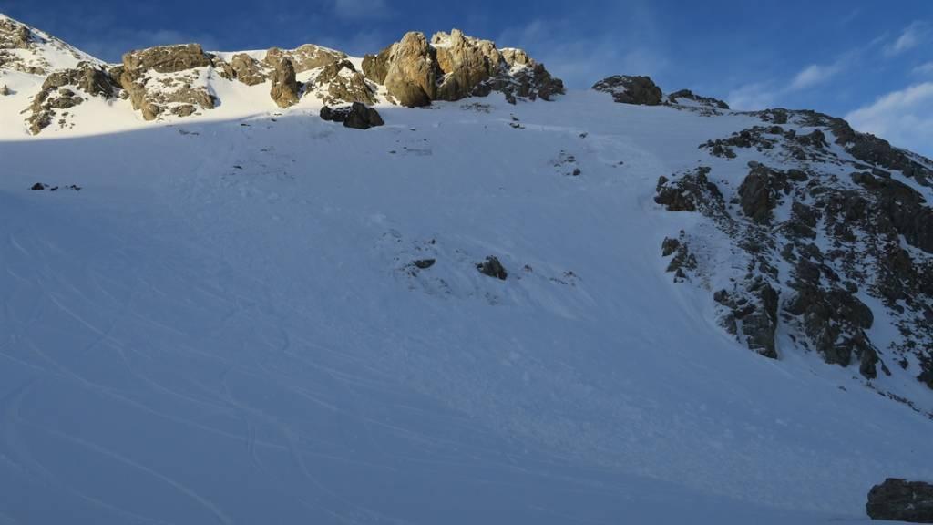 Snowboarder von Lawine in Celerina GR erfasst und gestorben