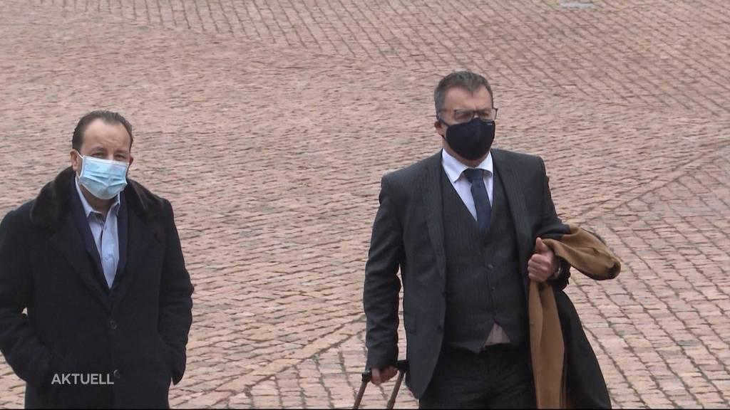 Autokönig Riccardo Santoro vor Obergericht