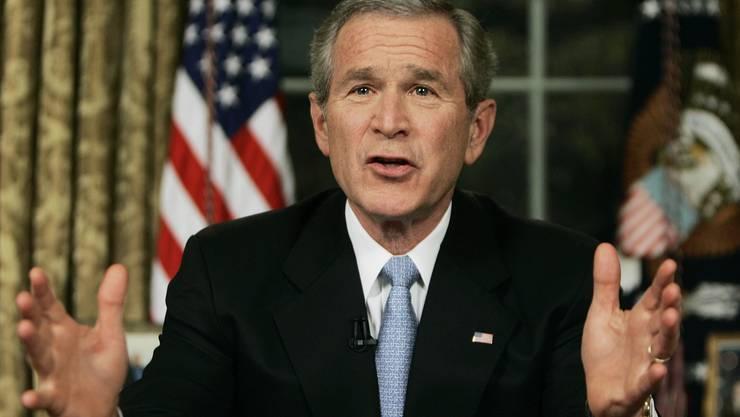 Leistete sich so einige Fehltritte: George W. Bush
