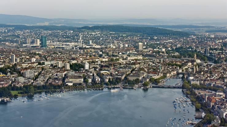 Blick auf Zürich. (Archiv)