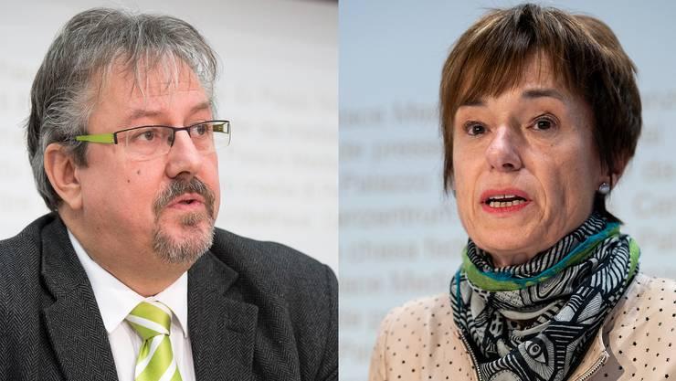Bekommt Nationalrat Beat Flach (GLP) bald Verstärkung aus seiner Aargau Sektion? Oder erhält Nationalrätin Ruth Humbel (CVP) Verstärkung aus der CVP Aargau?