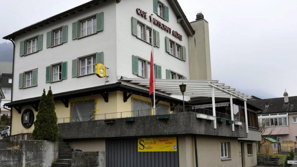 Der Wirt des Restaurants Mühle in Schattdorf UR wurde im März 2013 von einem Bekannten erstochen. (Archivbild)