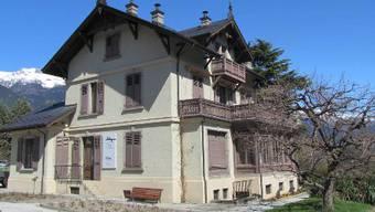 Die Villa Ruffieux in Sierre.
