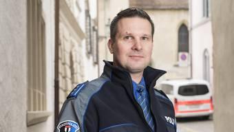 Andreas Lang (43) ist seit November neuer Kommandant der Stadtpolizei Baden.