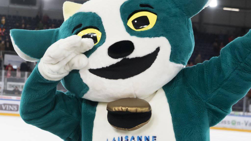 Maskottchen «Yodli» wird die olympischen Jugendspiele begleiten