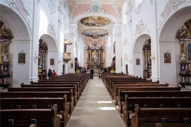 So hell war der Kirchenraum zuvor seit Jahrhunderten nicht mehr.