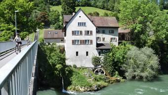 DieBrunnenmühle in Brugg.