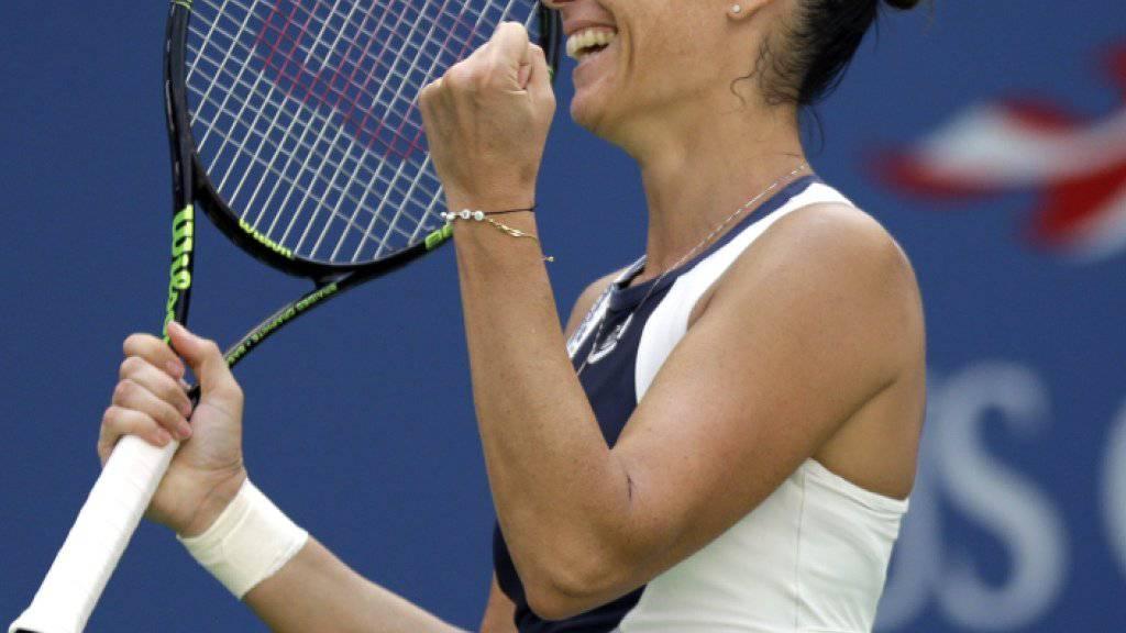 Flavia Pennetta zeigt in New York erneut ihr bestes Tennis
