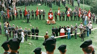 Der Bundesrat versuchte 1989 mit den sogenannten «Diamant»-Gedenkfeiern, die Bevölkerung gegen die GSoA-Initiative zu mobilisieren. Ohne Erfolg.