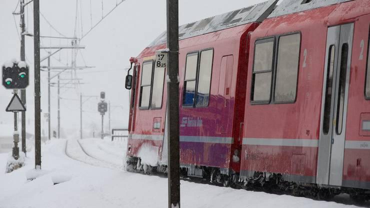 Die Rhätische Bahn verkehrt nicht auf allen Strecken. (Archiv)