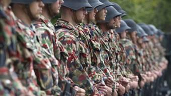 Der grosse Rat hat die Armeereform abgelehnt. (Archiv)