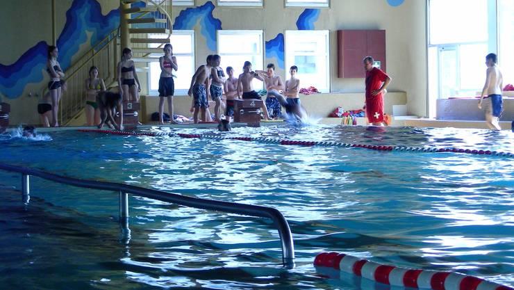 Sisseln: Den Kindern ist es vor allem wichtig, dass sie weiterhin dem Schwimmsport frönen können. (Walter Christen)
