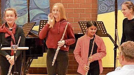 Die Musikschule Frick glänzte bei ihren Auftritten.